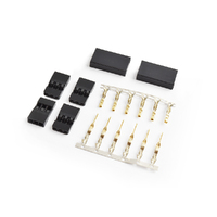 JR connector set Gold plated terminals 2pairs/bag