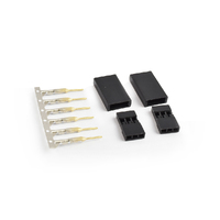 Futaba connector Female Gold plated terminals 2sets/bags