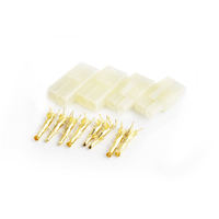 Tamiya connector set  Gold plated terminals 2pairs/bag