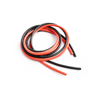 Silicone wire 12AWG 0.06  with 1m red and 1m black