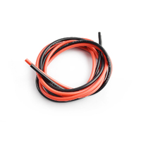 Silicone wire 14AWG 0.06 with 1m red and 1m black