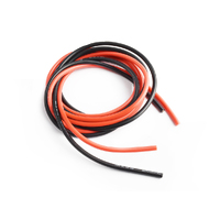 Silicone wire 16AWG 0.06  with 1m red and 1m black