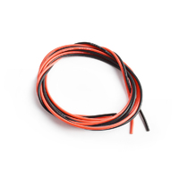Silicone wire 22AWG 0.06 with 1m red and 1m black