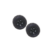 1:18 4WD high speed car Wheels Complete(2pcs)
