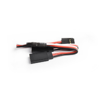 15cm 22AWG Futaba straight Y Extension wire