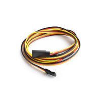 90cm 22AWG Hitec straight Y Extension wire