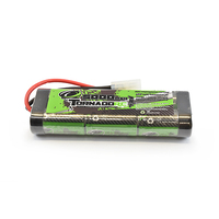 TORNADO RC 5000MAH 7.2V NIMH STICKPACK TAMIYA CONNECTOR