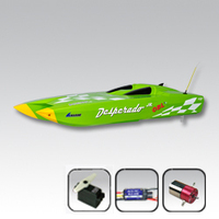 Thunder Tiger Desperado JR Brushless Green (No Radio or RX)