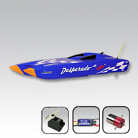 Thunder Tiger Desperado JNR Brushless Boat Blue (No Radio or RX)
