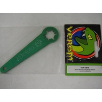 Green Aluminium Flywheel Wrench