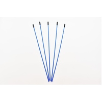 Antenna Tubes 5pcs Blue
