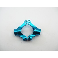 Tamiya MO5 Rear Alloy Hubs 2deg. blue
