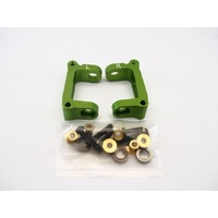 Tamiya MO5 Front C hub with BRG green