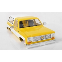 RC4WD Chevrolet Blazer Hard Body Complete Set (Yellow)