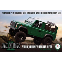 RC4WD Gelande II RTR Truck Kit w/D90 Body Set