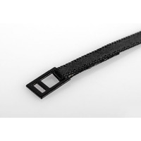 Black Tie Down Strap with Metal Latch