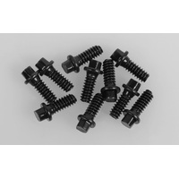 RC4WD Miniature Scale Hex Bolts (M1.6 x 4mm) (Black)
