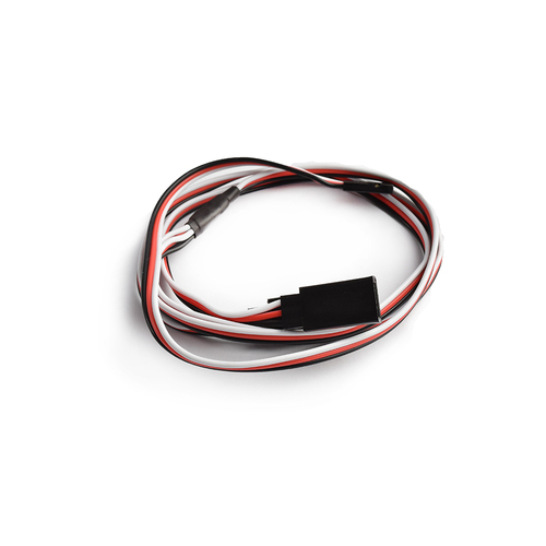 60cm 22AWG Futaba straight Y Extension wire