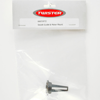 SWASH GUIDE & MOTOR MOUNT (TWISTER 400 V2)